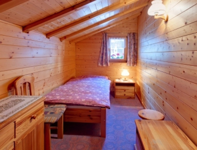 Chalet Graziella   Small Bedroom With A Single Bed