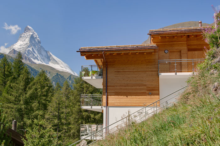 House Gloria overlooking the Matterhorn